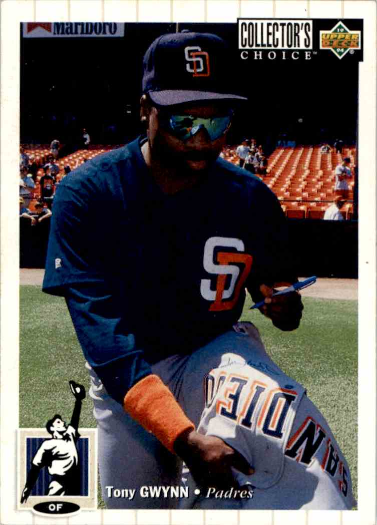 1994 Collector's Choice Tony Gwynn #122 card front image