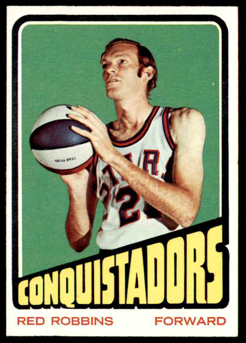 1972-73 Topps Red Robbins #212 card front image