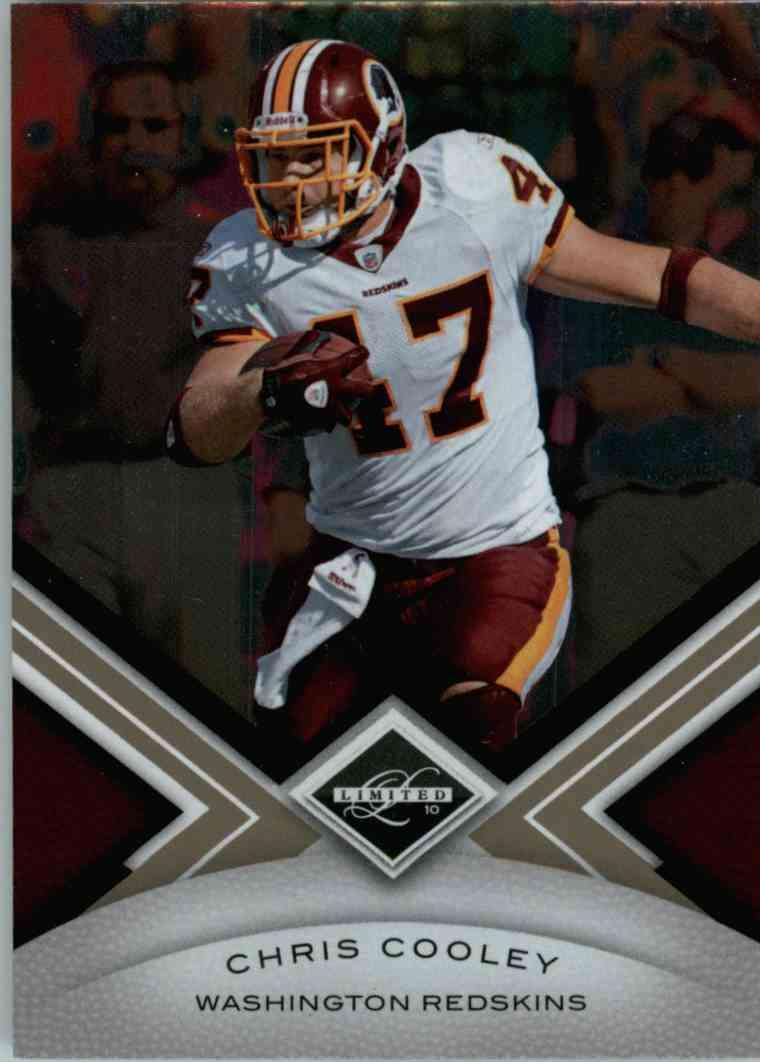 2010 Leaf Limited Chris Cooley #98 card front image