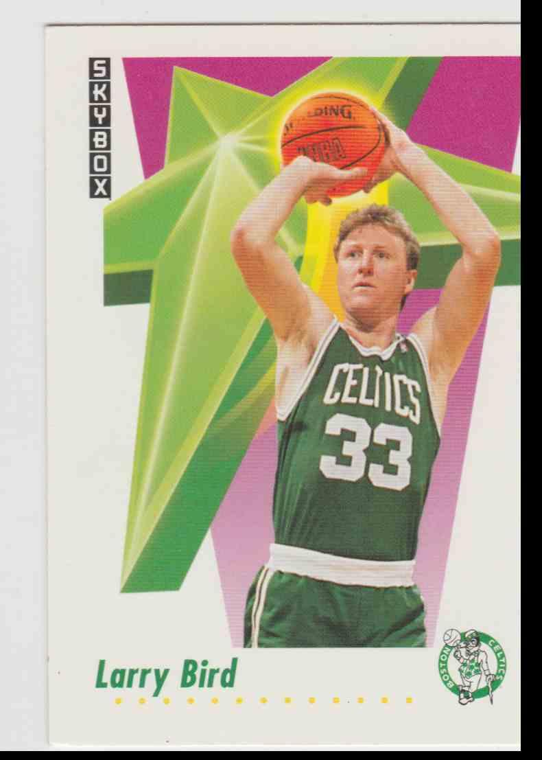 1991 92 Skybox Larry Bird 12 On Kronozio