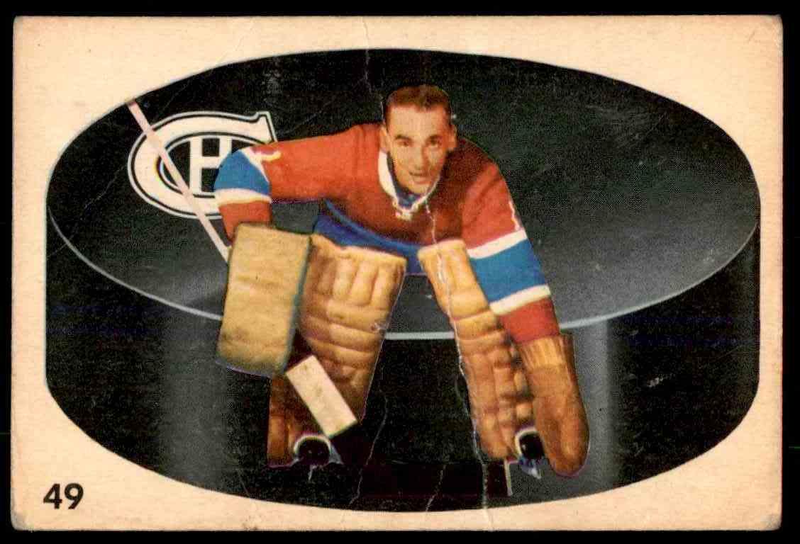 1962-63 Parkhurst Jacques Plante #49 card front image