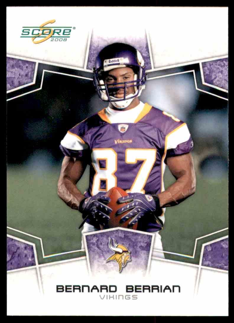 2008 Score Bernard Berrian #169 card front image