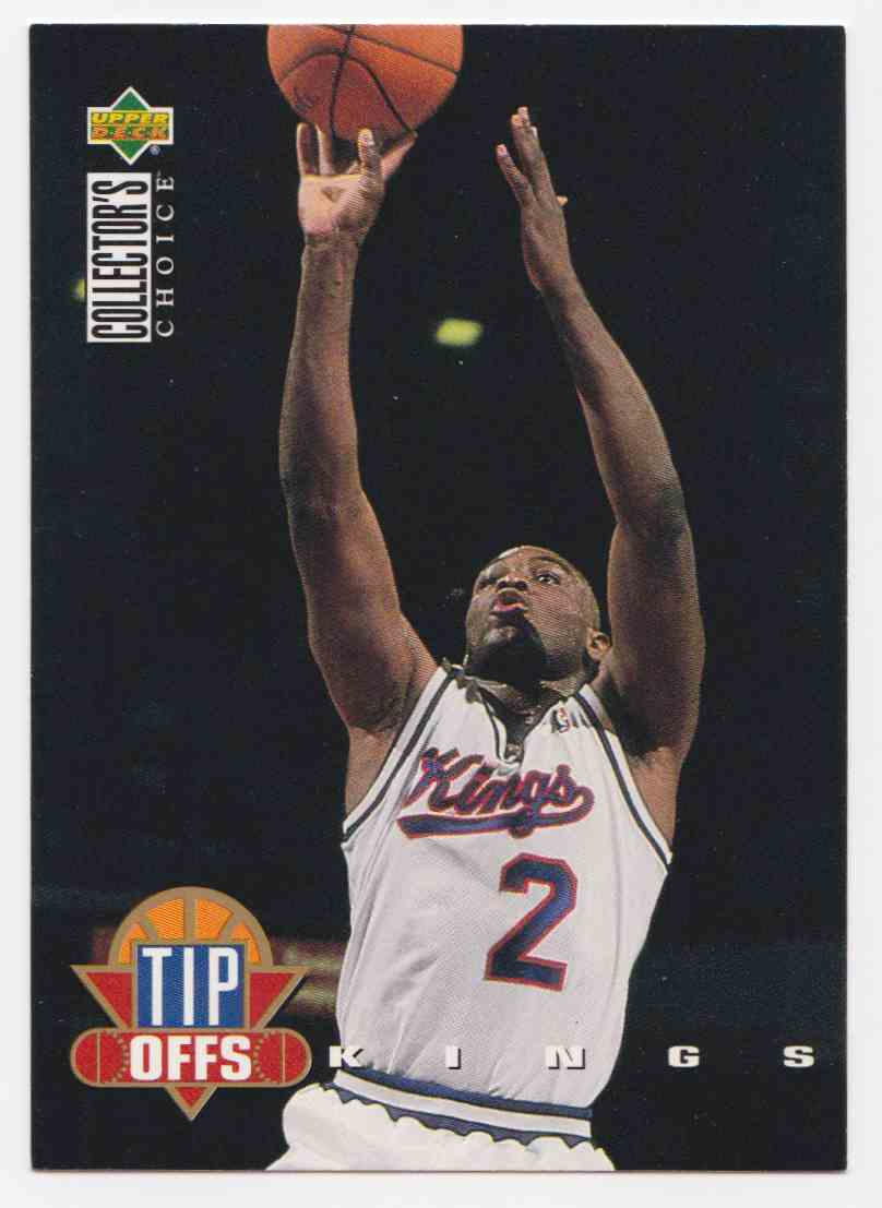 1994-95 Upper Deck Collector's Choice Base Mitch Richmond #188 card front image