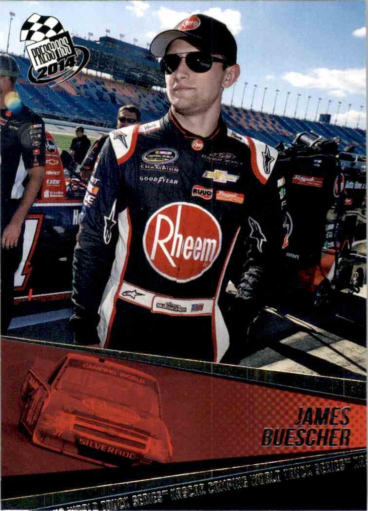2014 Press Pass James Buescher #59 card front image