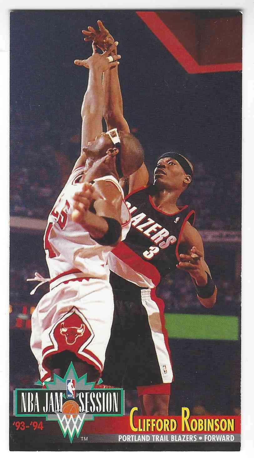 1993 94 Fleer NBA Jam Session Clifford Robinson 189 on Kronozio
