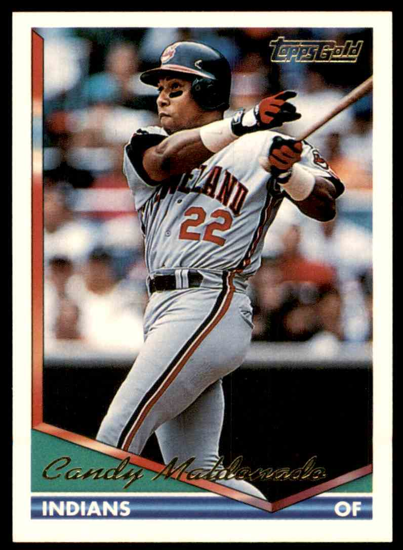 1994 Topps Gold Candy Maldonado #667 card front image