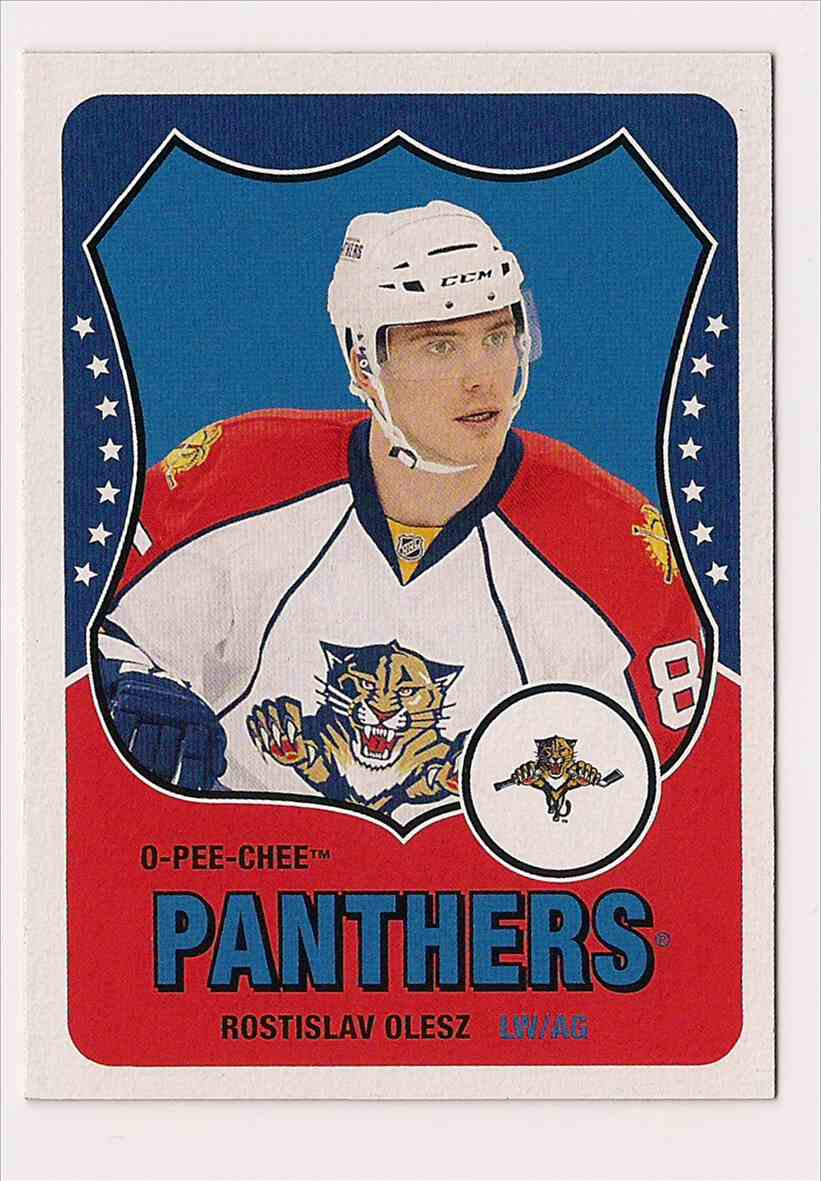 2010-11 O-Pee-Chee Retro Rostislav Olesz #432 card front image
