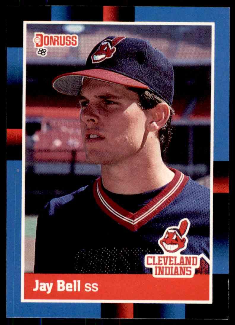 1988 Donruss Baseball Jay Bell 637 On Kronozio