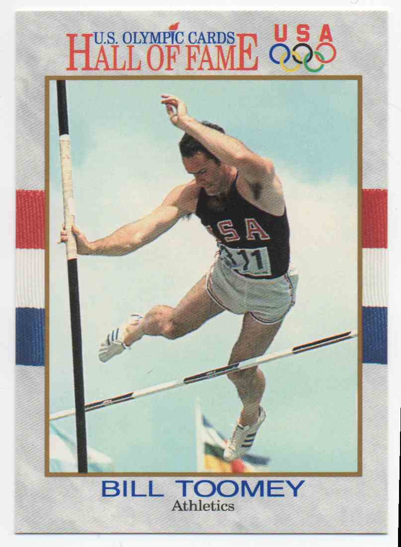 1991 Impel U.S. Olympic Hall Of Fame Bill Toomey #23 card front image