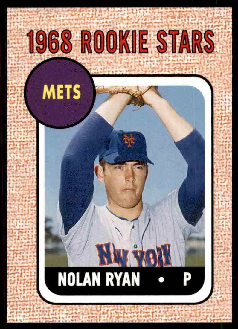 2006 Topps Rookie Of The Week Nolan Ryan 177 On Kronozio