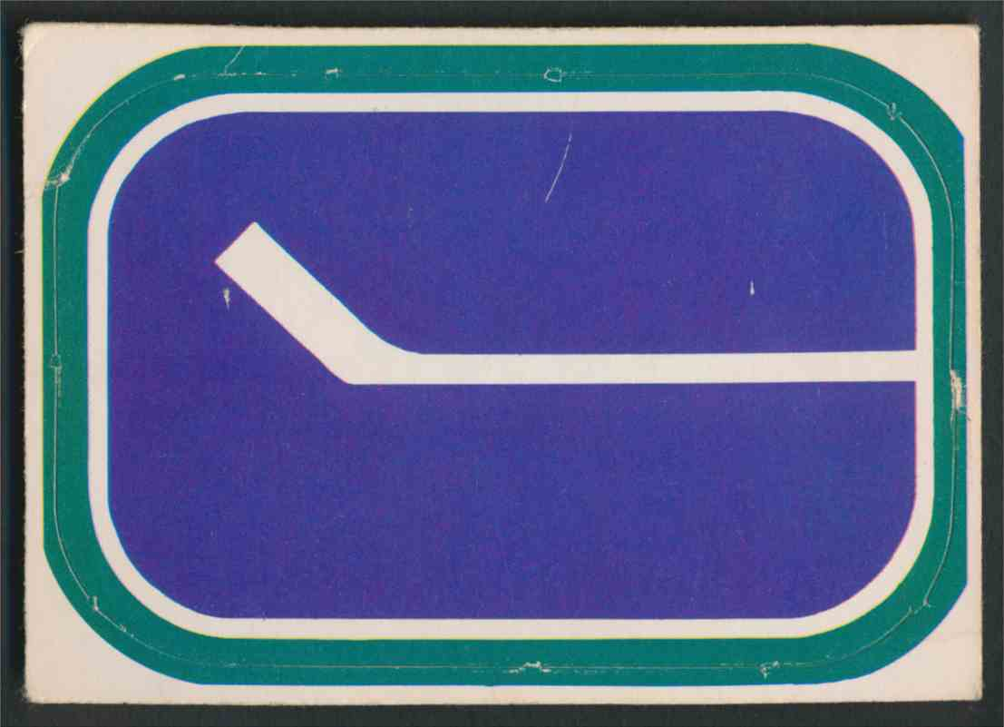 1972-73 O-Pee-Chee Vancouver Canucks Logo #17 card front image