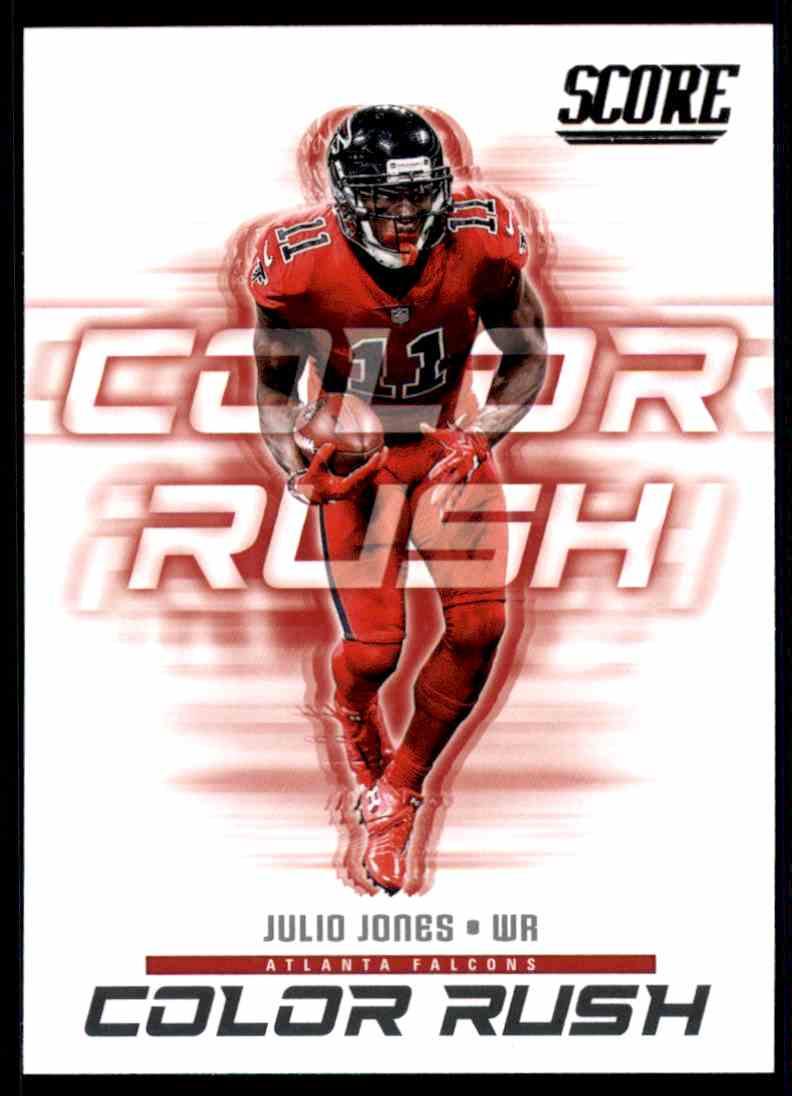 huge selection of d47d3 8a0aa 2018 Score Color Rush Julio Jones #15 on Kronozio