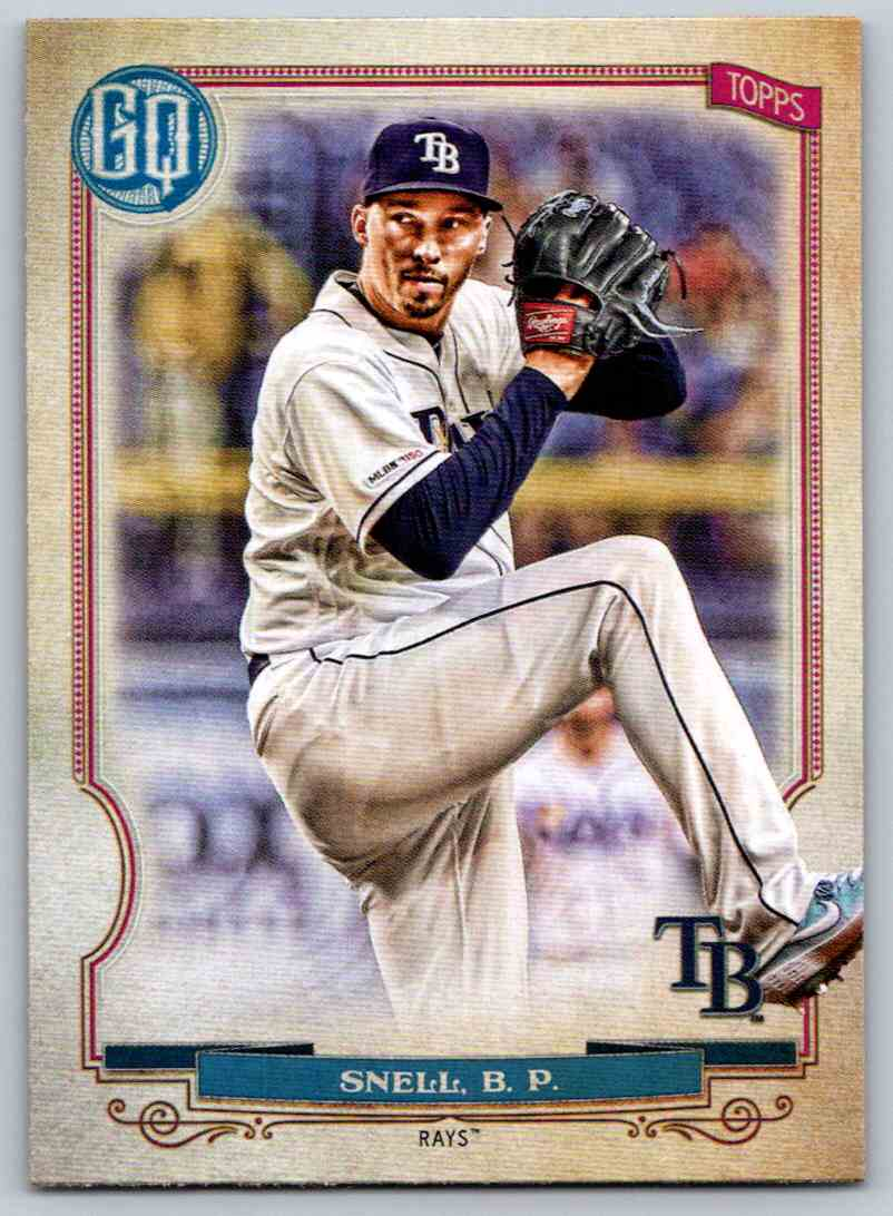 2020 Topps Gypsy Queen Base Blake Snell #41 card front image