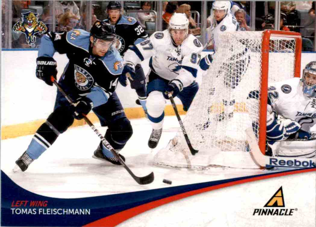 2011-12 Pinnacle Tomas Fleischmann #162 card front image