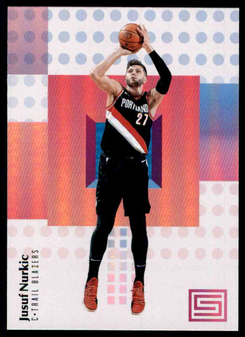 2017-18 Panini Status Jusuf Nurkic #15 card front image