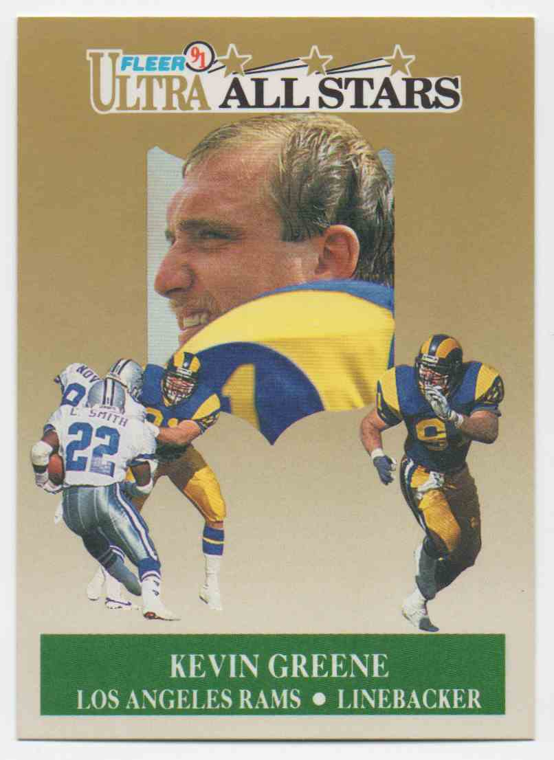 1991 Ultra All Stars Kevin Greene #10 card front image