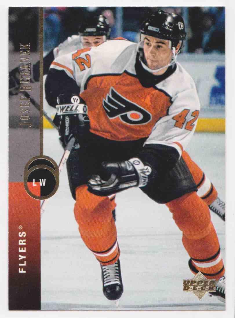 1994-95 Upper Deck Josef Beranek #117 card front image
