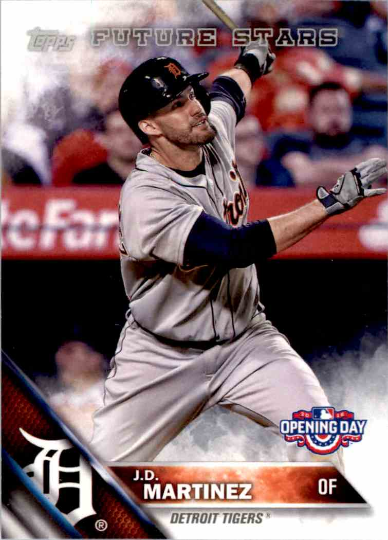 2016 Topps Opening Day J.D. Martinez #OD-89 card front image