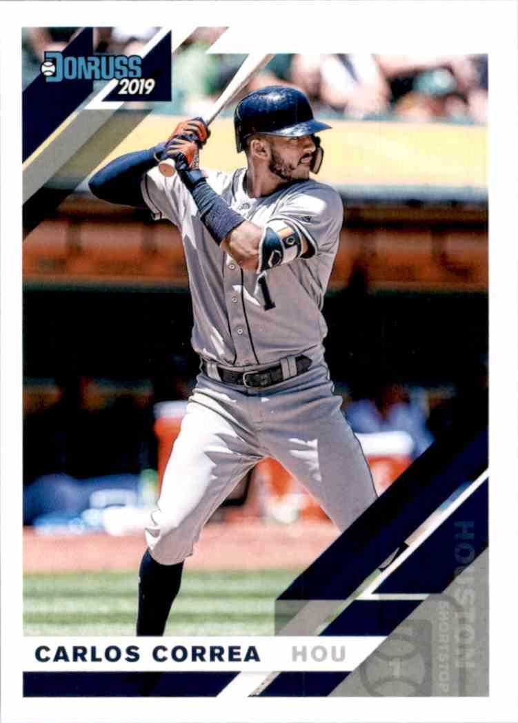 2019 Donruss Carlos Correa #78 card front image
