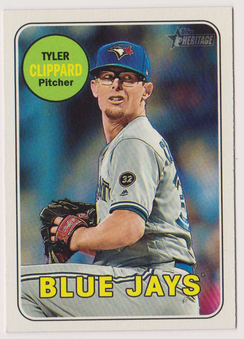 2018 Topps Heritage Tyler Clippard #551 card front image