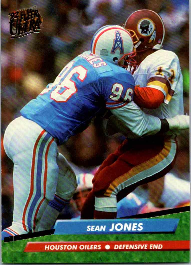 1992 Fleer Ultra Sean Jones #146 card front image