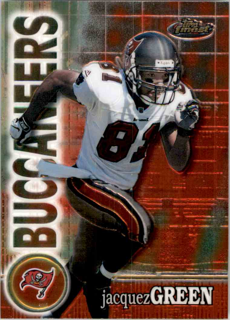 2000 Finest Jacquez Green #35 card front image