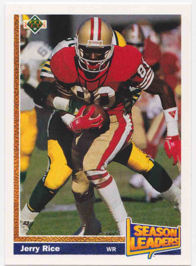 1991 Upper Deck Jerry Rice #402 card front image