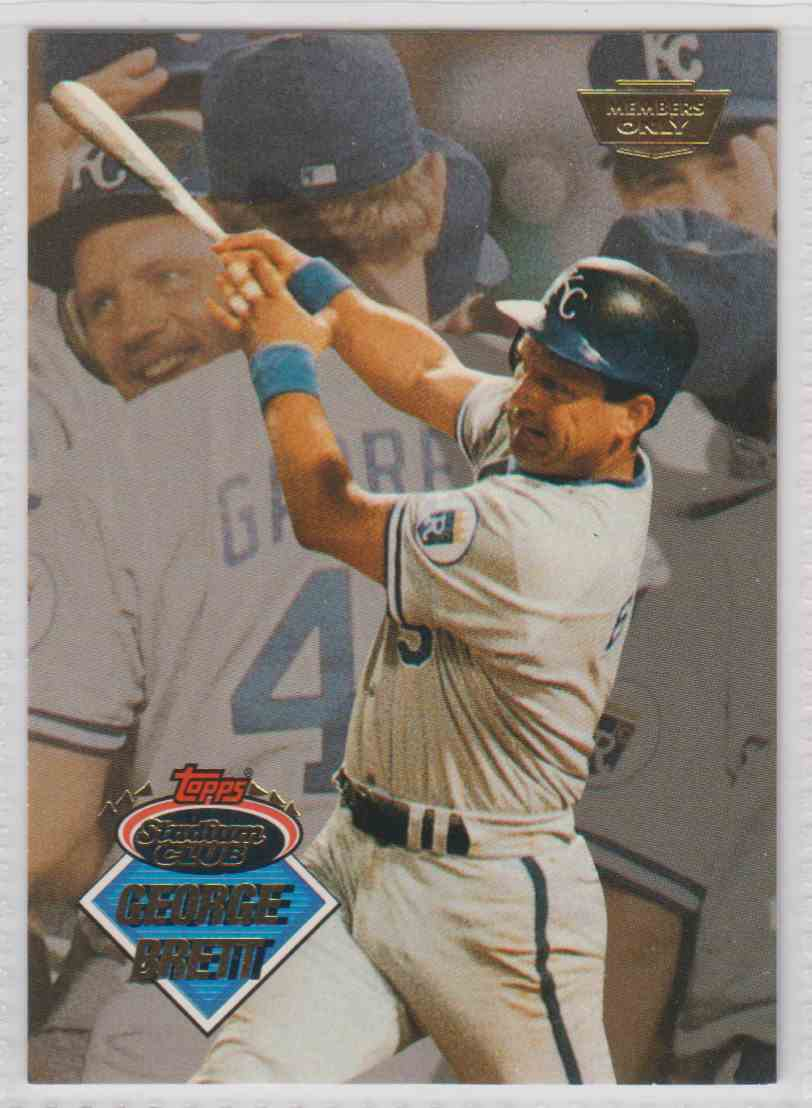 Kansas City Royals 1993 Stadium Club 30-card Baseball Team Set George Brett Honkbal Verzamelkaarten: sport +