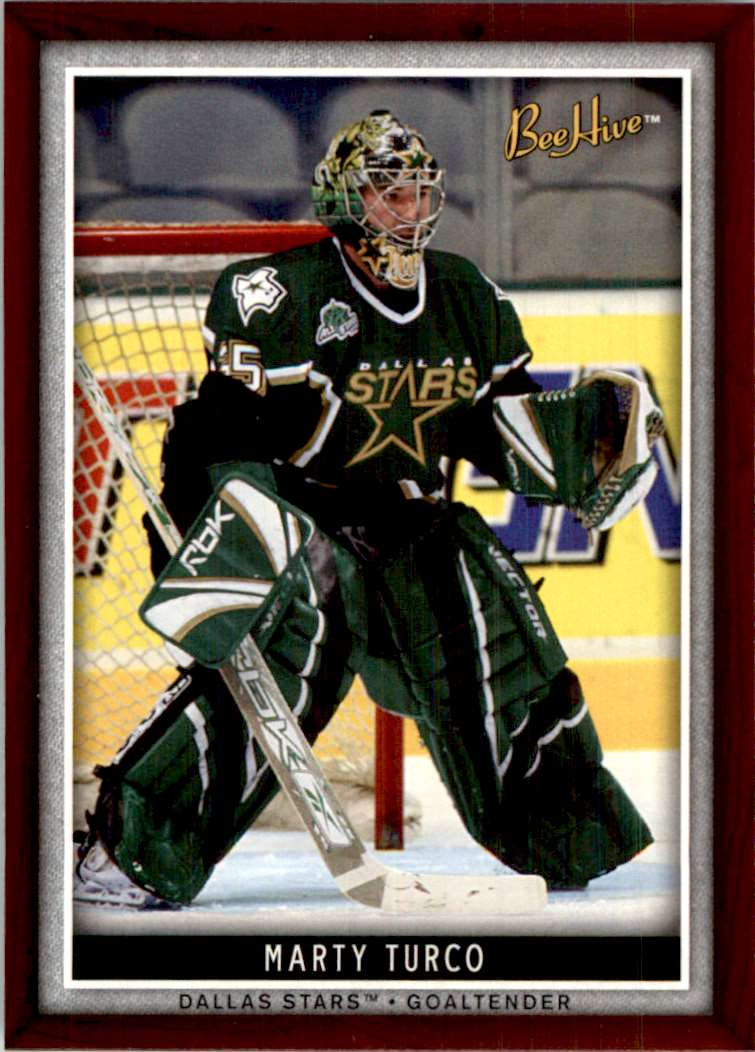 2006-07 Upper Deck Beehive Marty Turco #69 card front image