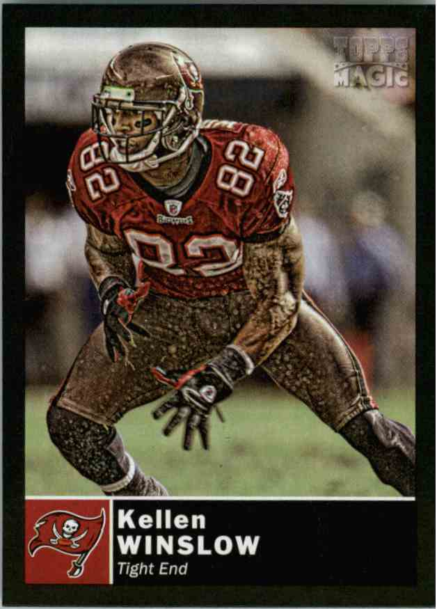 2010 Topps Magic Mini Kellen Winslow #175 card front image