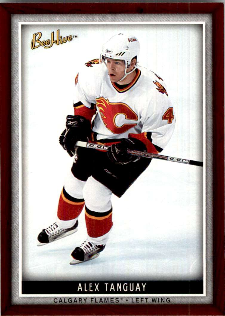 2006-07 Upper Deck Beehive Alex Tanguay #87 card front image