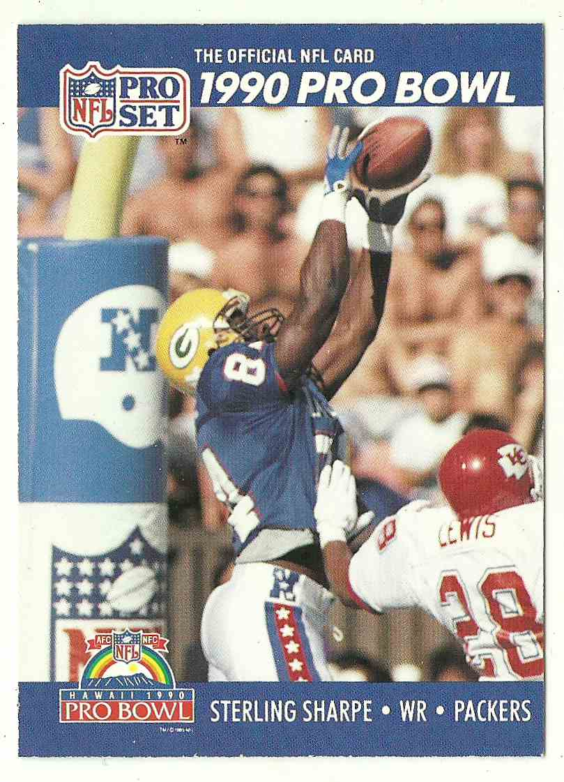 1991 Pro Set Sterling Sharpe #415 card front image