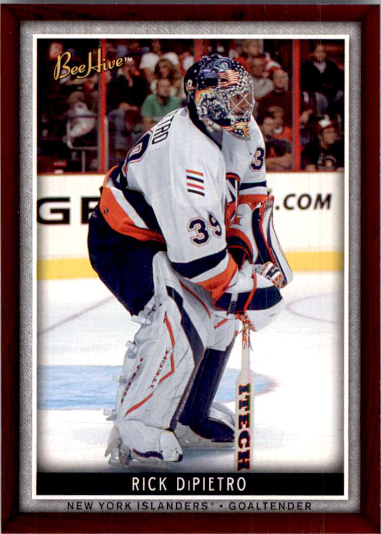 2006-07 Upper Deck Beehive Rick DiPietro #39 card front image
