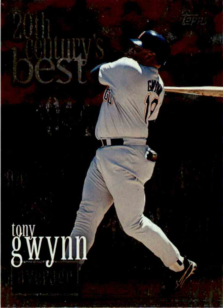2000 Topps Average Tony Gwynn #229 card front image