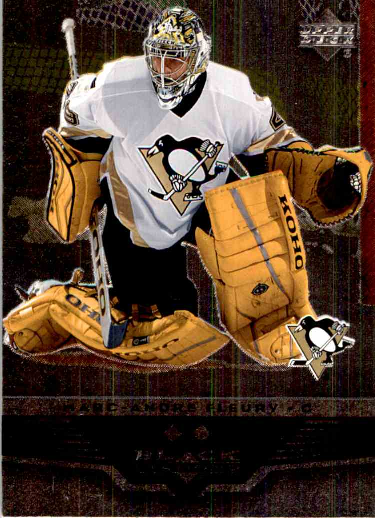 2005-06 Black Diamond Marc-Andre Fleury #110 card front image