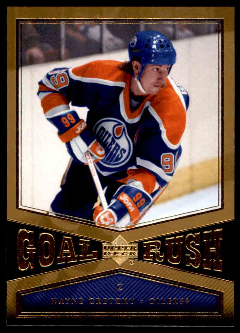 2005-06 Upper Deck Goal Rush Wayne Gretzky #CR6 card front image