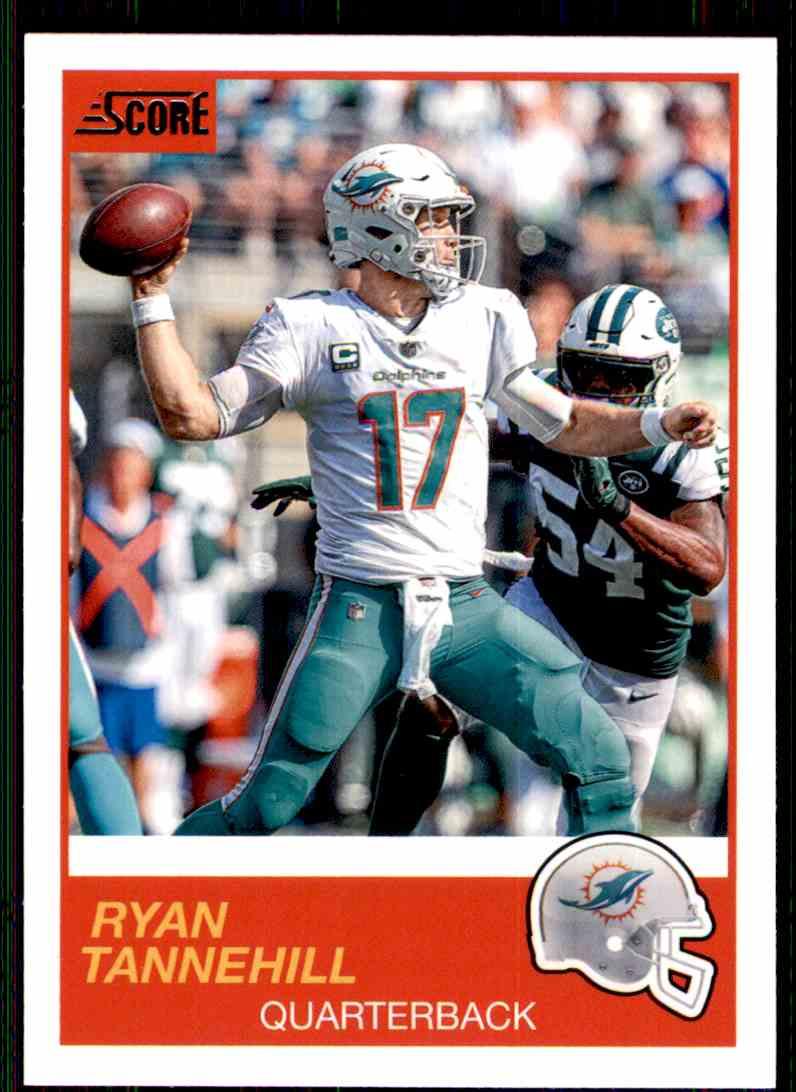 2019 Score Ryan Tannehill #132 card front image