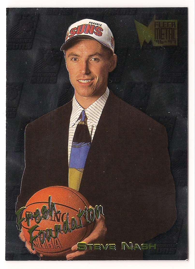 1996-97 Metal Steve Nash #138 card front image