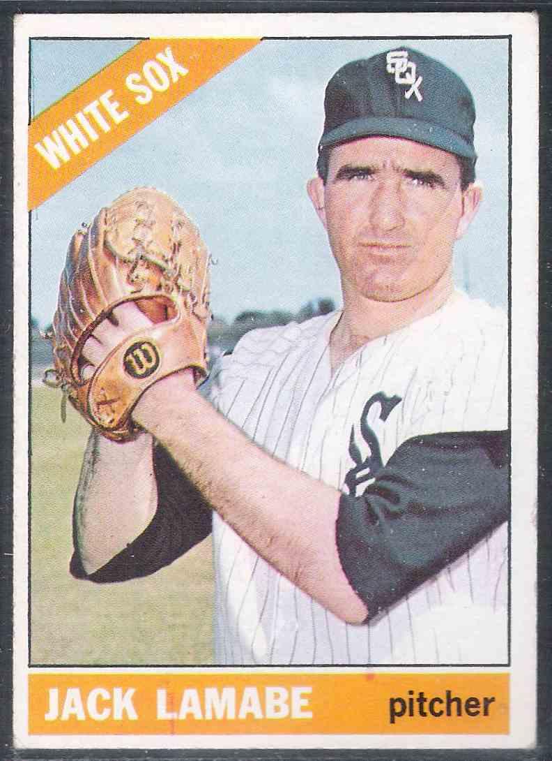1966 Topps Jack Lamabe SP #577 card front image