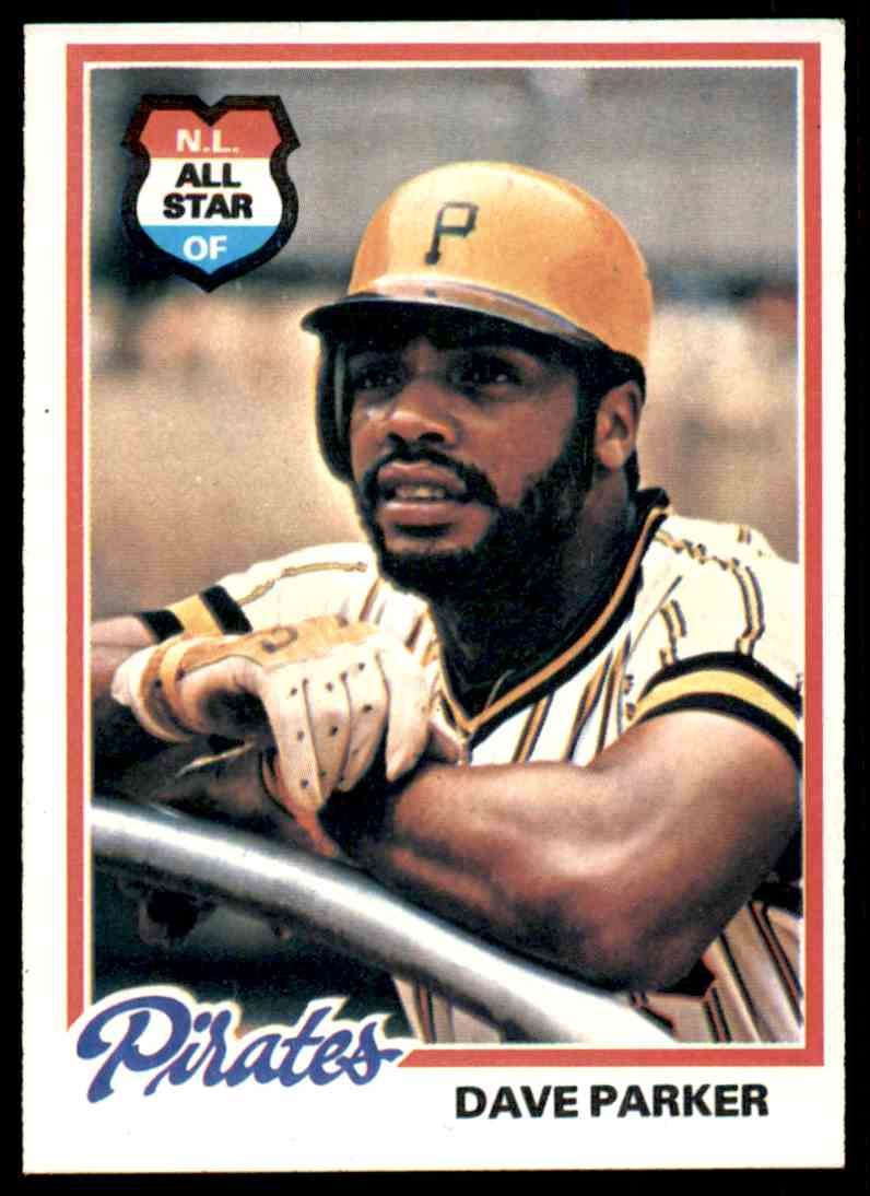 1978 Topps Dave Parker All Star 560 On Kronozio