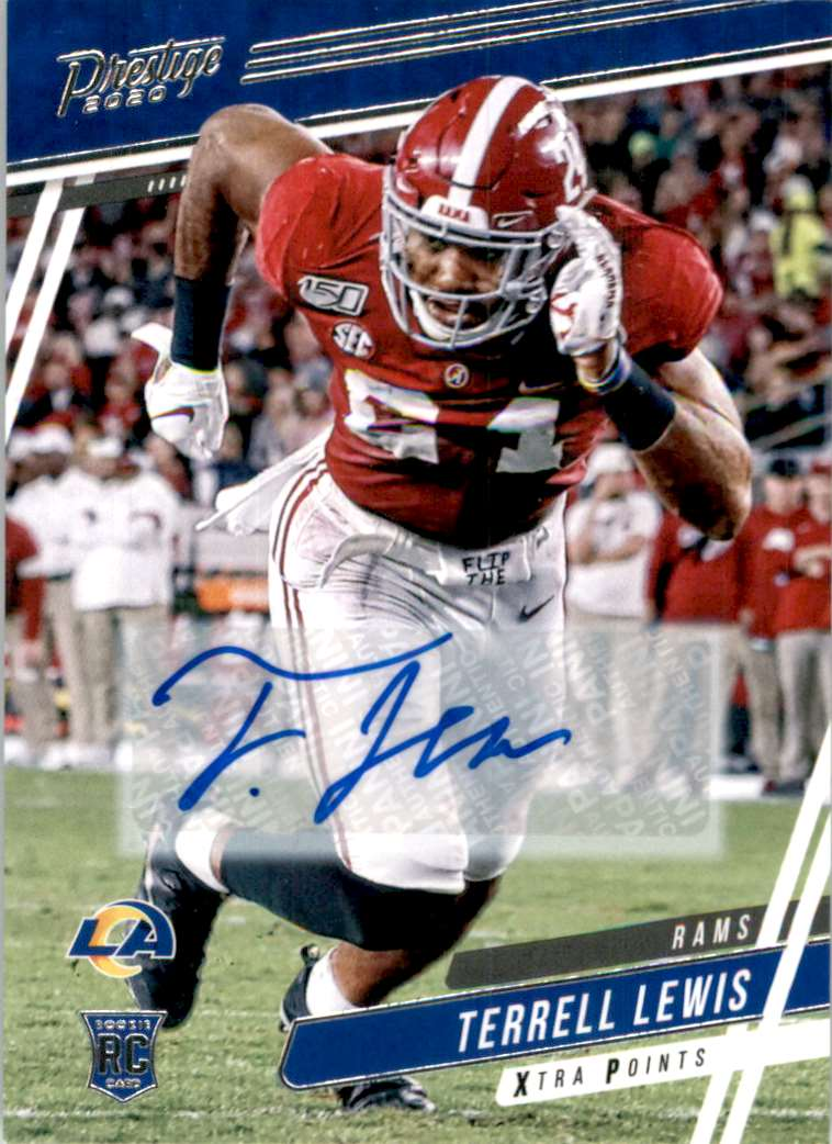 2020 Prestige Xtra Points Signatures Terrell Lewis #291 card front image