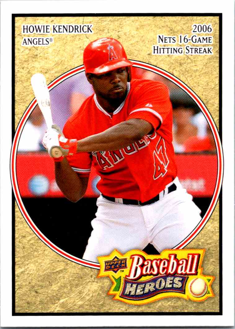 2008 Upper Deck Baseball Heroes Howie Kendrick #84 card front image