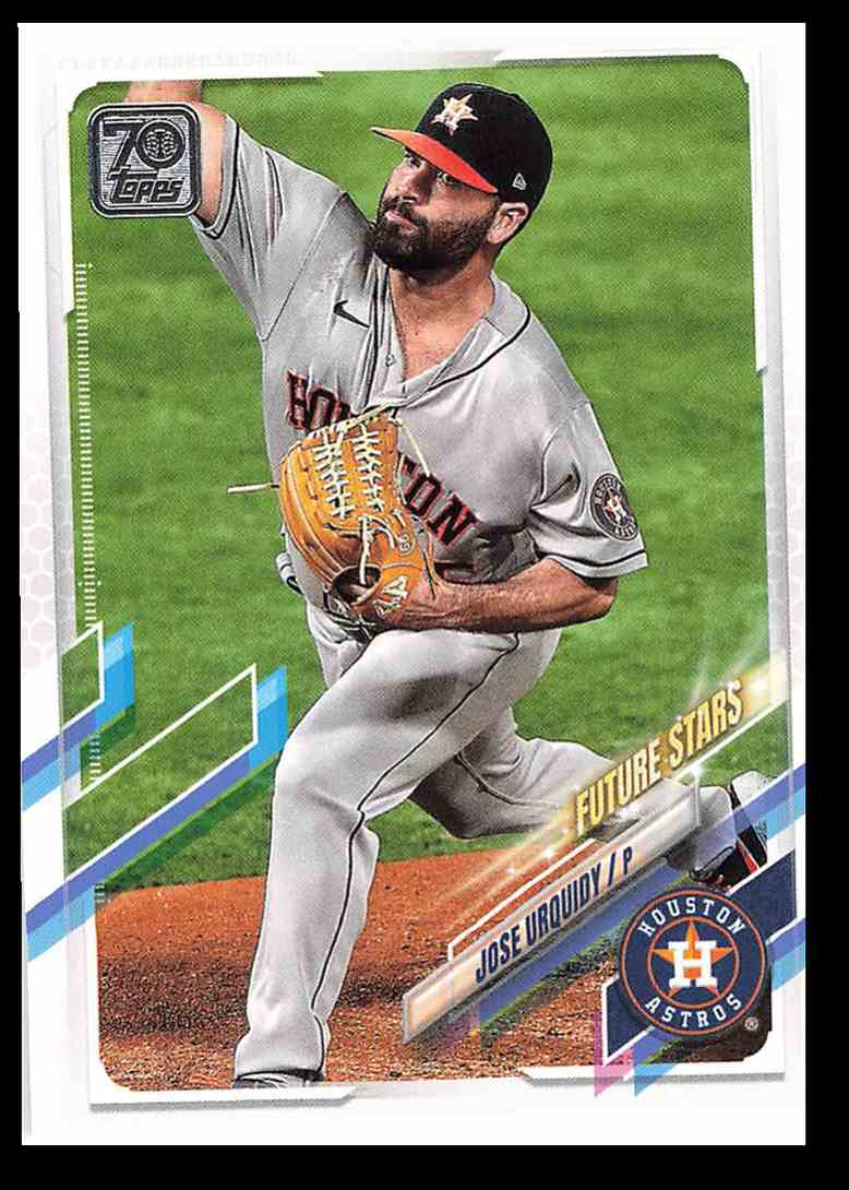 2021 Topps Series 1 Jose Urquidy Fs #240 card front image
