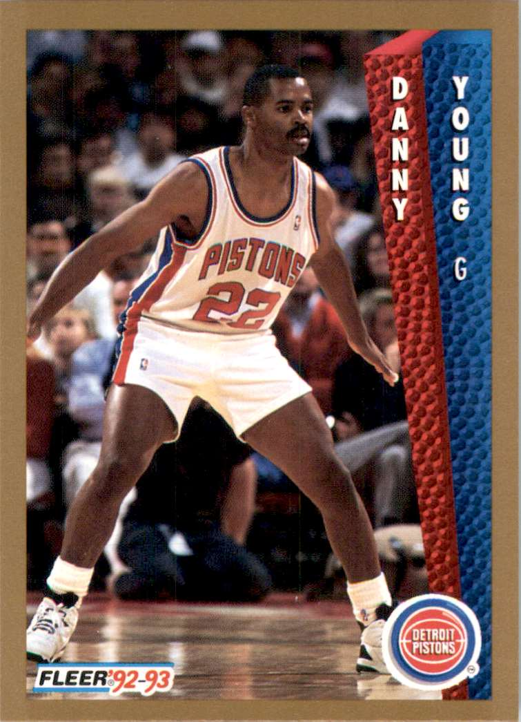 1992-93 Fleer Danny Young #337 card front image