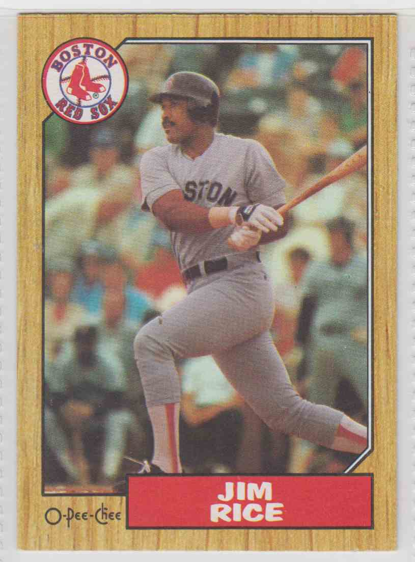 1987 O-Pee-Chee Jim Rice #146 card front image