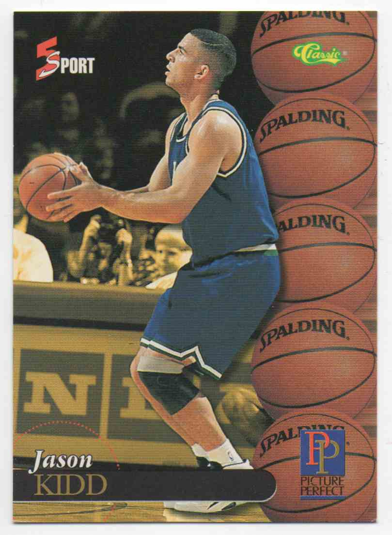 1995-96 Classic 5 Sport Jason Kidd #198 card front image