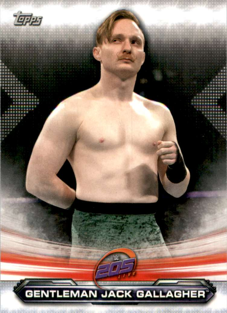 2019 Topps Wwe Raw Gentleman Jack Gallagher #80 card front image