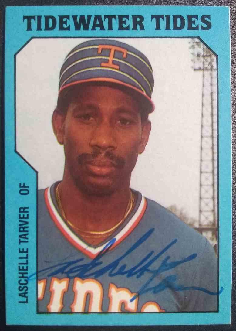 1985 TCMA LaSchelle Tarver #13 card front image
