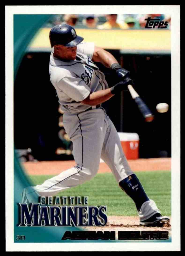 2010 Topps Adrian Beltre #189 card front image