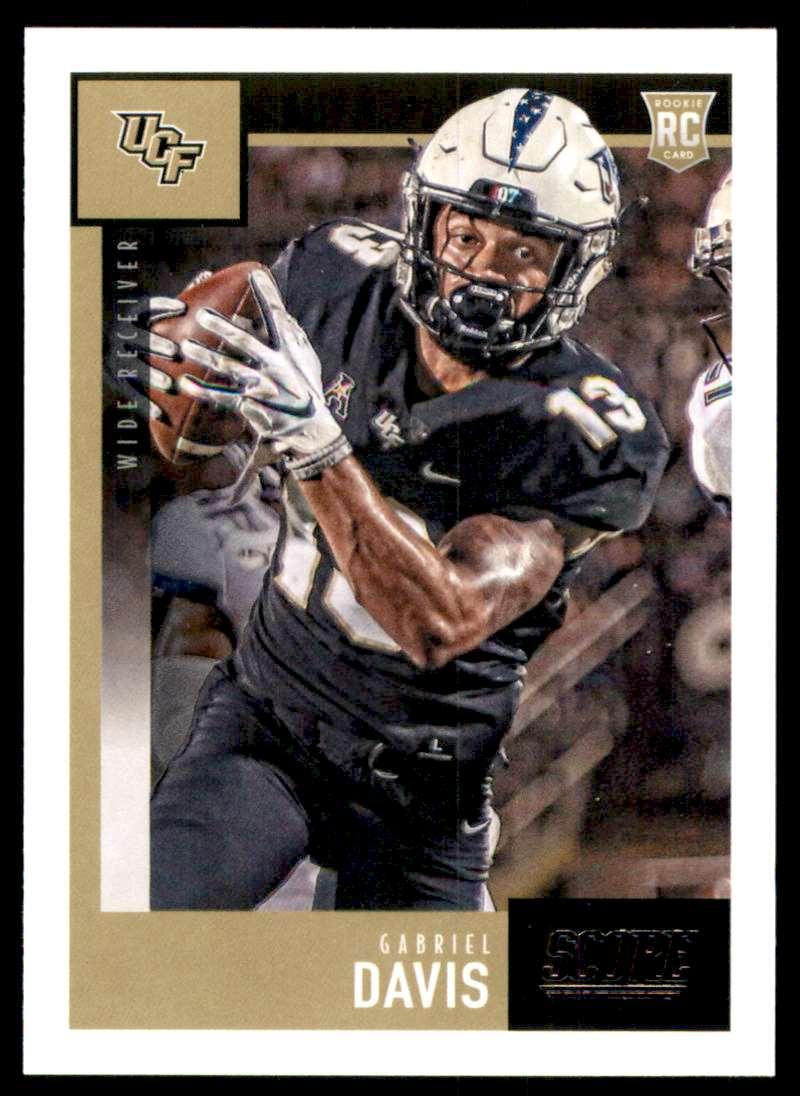 2020 Score Gabriel Davis RC #423 card front image